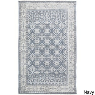 Hand-Knotted Orford Wool Rug (5'6 x 8'6)