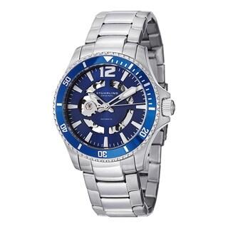 Stuhrling Original Men's Automatic Regatta Makran Stainless Steel Bracelet Watch