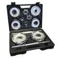 Valor Fitness CDS-40 Chrome Set 40-pound Dumbbell Set