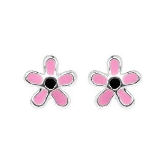 Petite 6mm Summer Flower .925 Silver Stud Earrings (Thailand)