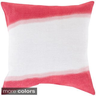 Decorative Benson 22-inch Poly or Down Filled Throw Pillow