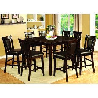 Furniture of America Rolen Dark Cherry Counter Height Dining Table