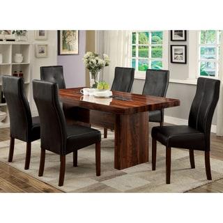 Furniture of America Audrey 7-piece Contemporary Dining Set