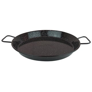 Enameled Carbon Steel Paella Pan