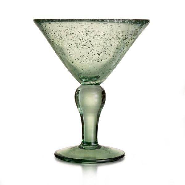 Style Setter Riley Green Martini Glasses (Set of 4)