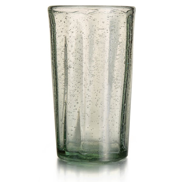 Style Setter Riley Green Glass Highball Glasses (Set of 4)