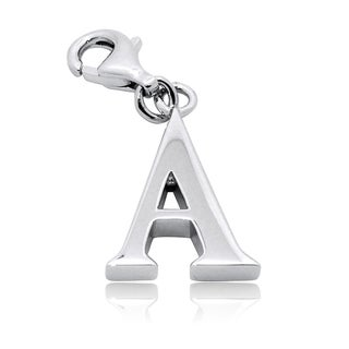 Gioelli Sterling Silver Alphabet Letter Charm