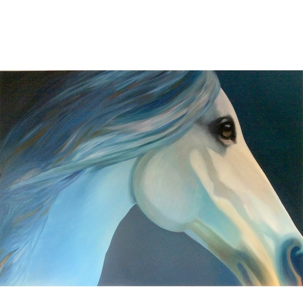 'Blue Equine' Original Painting