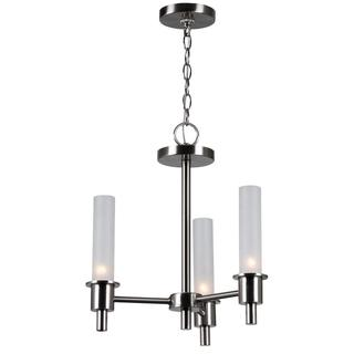 Dunwoody 6 or 3-light Chandelier with Cylinder Glass