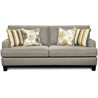 Furniture of America Gianne Contemporary Taupe Sofa