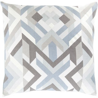 Decorative Hetton 20-inch Down or Poly Filled Throw Pillow