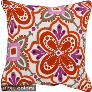 Decorative Ballard 20-inch Down or Poly Filled Throw Pillow