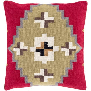 Decorative Everly 20-inch Down or Poly Filled Throw Pillow