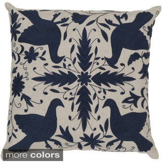 Decorative Calvert 20-inch Down or Poly Filled Throw Pillow