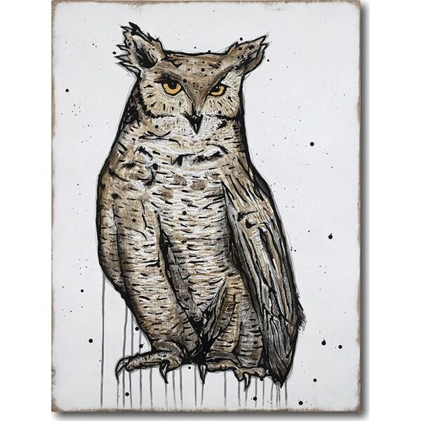 Joel Ganucheau 'Tiger of the Air' Gallery-wrapped Canvas Art