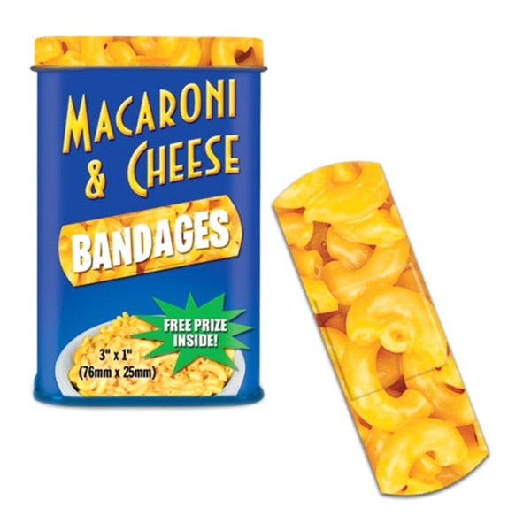 Macaroni And Cheese Bandages