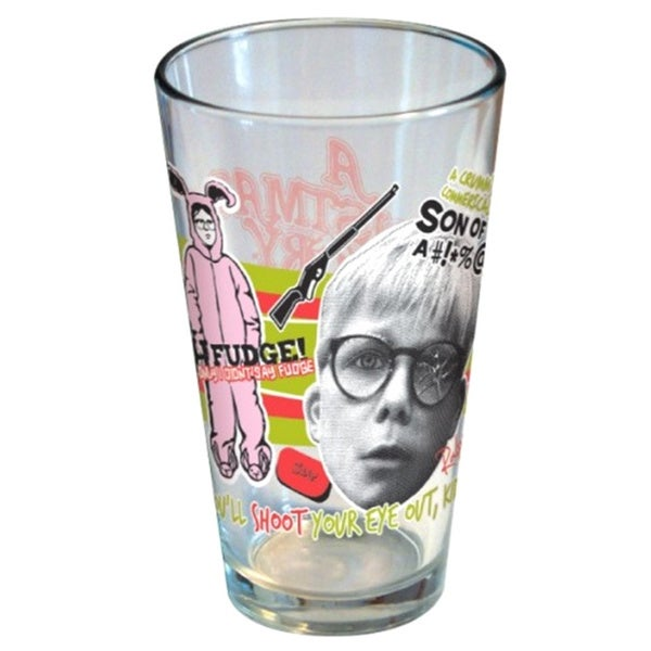 A Christmas Story Ralphie Pint Glass