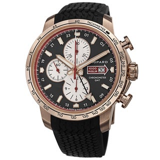 Chopard Men's 161292-5001 RBK 'Miglia 2013' Grey Dial Black Rubber Strap Chronograph Limited Edition Watch