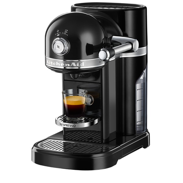 Nespresso by KitchenAid KES0503OB Onyx Black Metal Espresso Machine