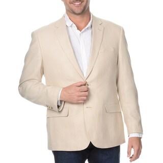 Prontomoda Elite Men's Brown Rich Wool Blazer