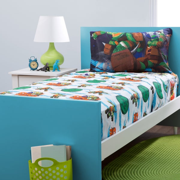 Teenage Mutant Ninja Turtles Twin Sheet Set