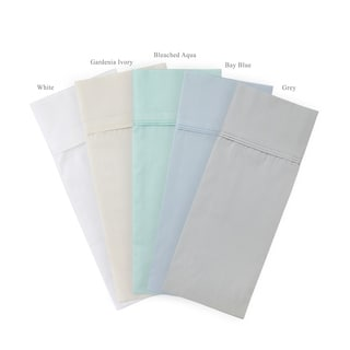 Egyptian Cotton 300 Thread Count Two-pleat Percale Sheet Sets
