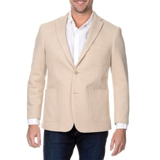 Via Toro Men's Wheat Comfort Knit Sportcoat