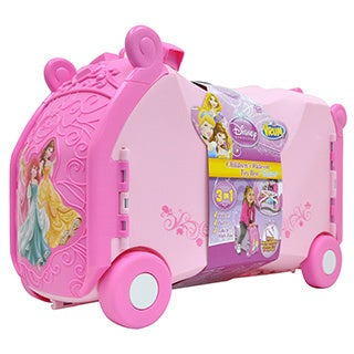 VRUM Disney Multi Princess Ride Along Kids Suitcase