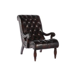 Warwick Leather Chair by Lazzaro Leather