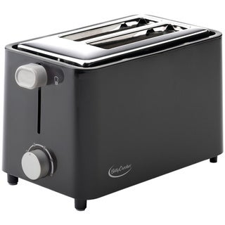 Betty Crocker BC-2605CB Black 2-Slice Toaster