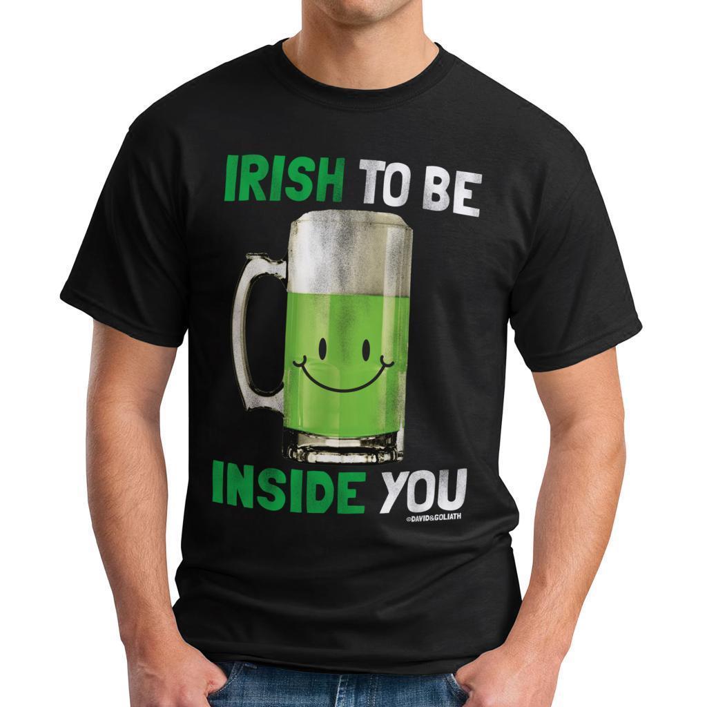 David & Goliath Men's 'Irish To Be' Graphic Tee