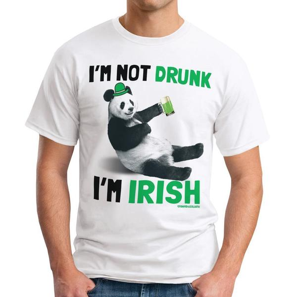 David & Goliath 'Drunk Panda' Men's Graphic Tee T-shirt