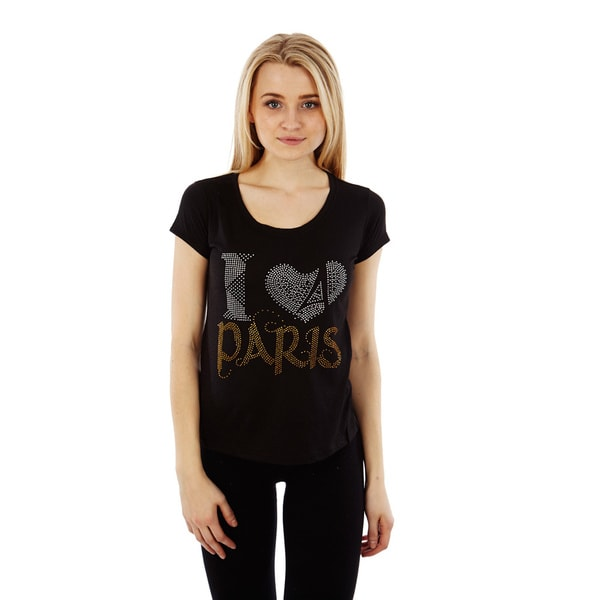 Dinamit Junior's 'I Love Paris' Graphic T-shirt