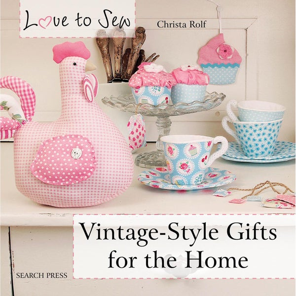 Search Press Books-Vintage-Style Gifts For The Home