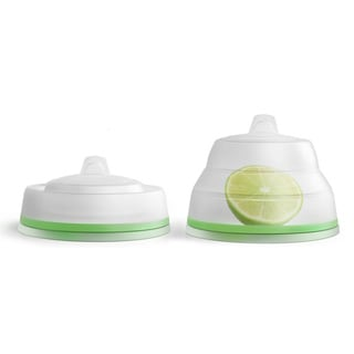 Prepara Chop Savor, Green Lid with Citrus Icon