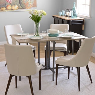 Convertible Wood Dining Table Grey