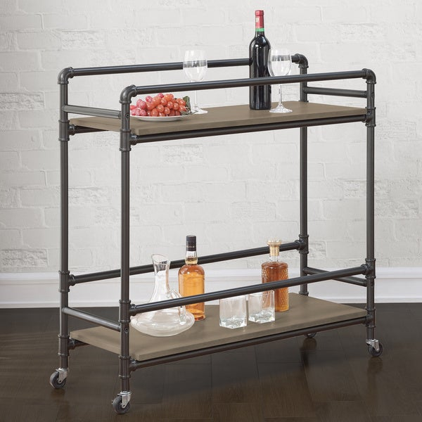 Stockton Industrial Bar Cart