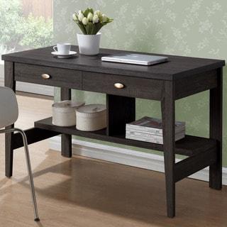 CorLiving WFP-280-D Folio Black Espresso 2-drawer Desk
