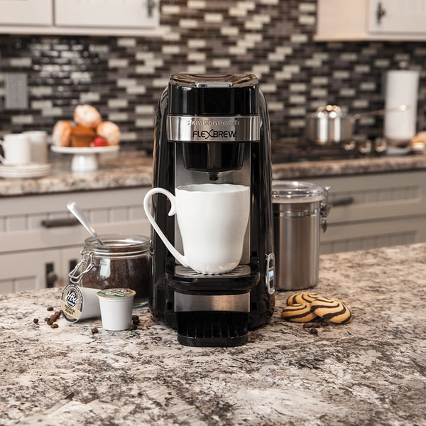 Hamilton Beach Black FlexBrew Plus Single Serve Coffee Maker 14973772