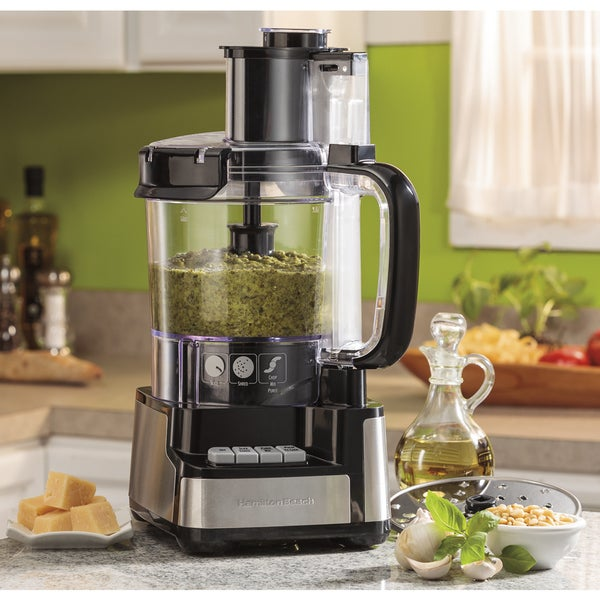 Hamilton Beach 12 Cup Stack & Snap Food Processor 14973773