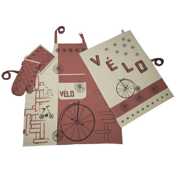 'Vol de Vlos Gingembre' 4-piece Kitchen Set