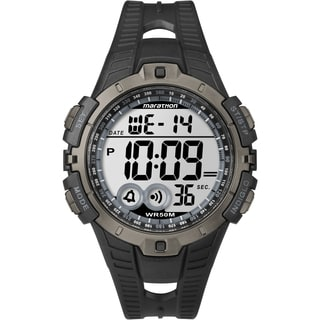 Marathon by Timex Men's Digital Full-size Black/ Gray Watch