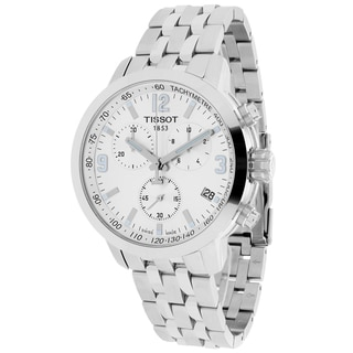 Tissot Men's T0554171103700 PRC 200 Round Silvertone Bracelet Watch