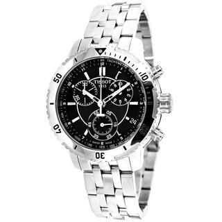 Tissot Men's T0674171105100 PRS 200 Round Silvertone Bracelet Watch