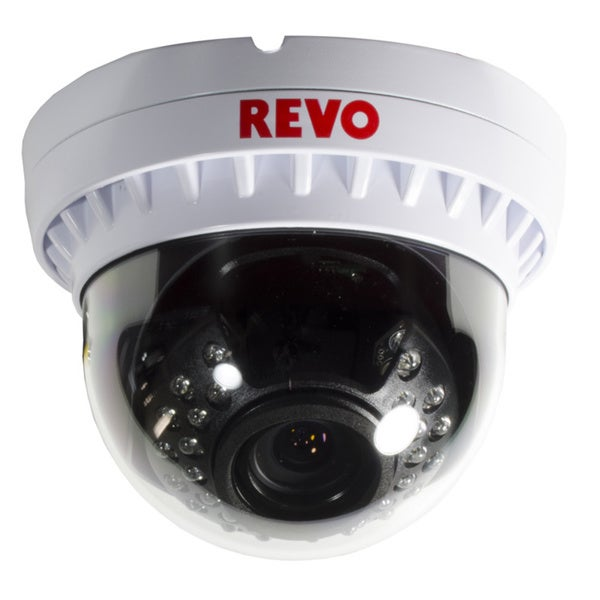 Revo Elite 900 TVL BNC VariFocal Indoor/ Outdoor Vandal-proof Dome Surveillance Camera with Night Vision