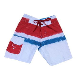 Azul Swimwear Boys' 'Paint Brush' Boardshorts