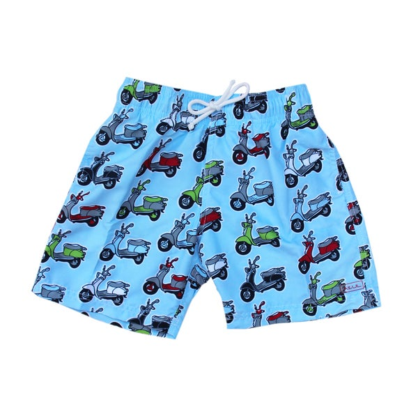 Azul Swimwear Kids' 'Mopeds' Swim Shorts
