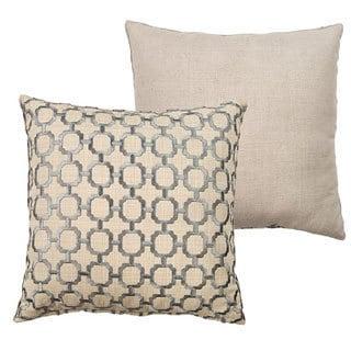 Worthington Embroidered 18 x 18-inch Throw Pillow