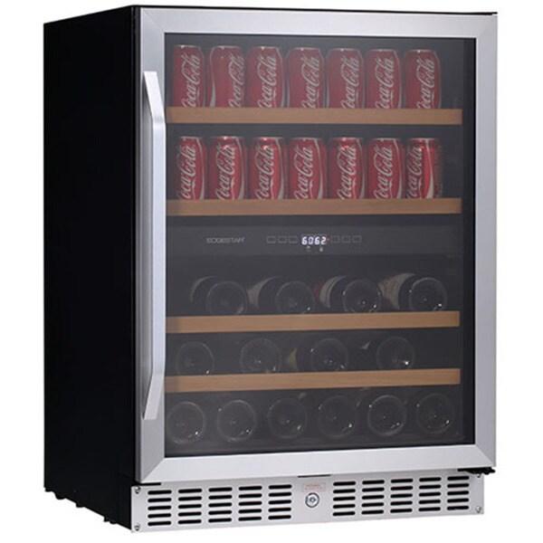 EdgeStar CWB8420DZ 24-inch Built-In Wine and Beverage Cooler