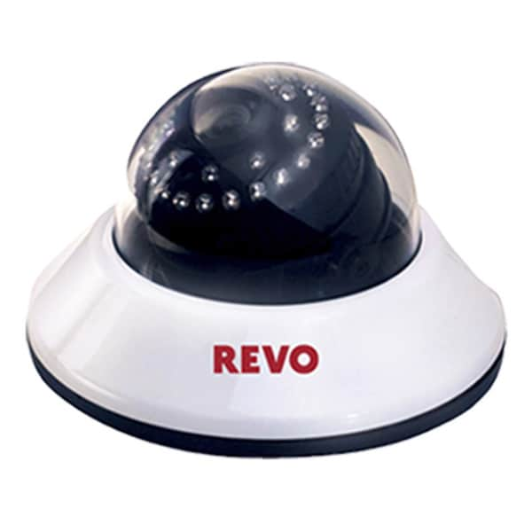 Revo 660 TVL Indoor Dome Surveillance Camera with 80-foot Night Vision